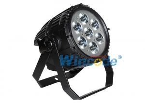 China Outdoor Commercial Outdoor Lighting 7 X 10w , Led Stage Wash Lighting RGBW 4 In 1 on sale