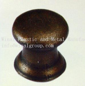 China Ancient brass hardware classic knob,size Dia14xH16,Zinc alloy,plating & color can OEM. on sale