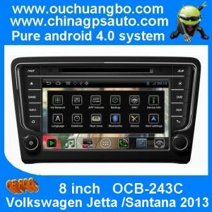 China Ouchuangbo S150 auto GPS Dual zone for Volkswagen Jetta Santana 2013 with android 4.0 car radio rear camera OCB-243C on sale