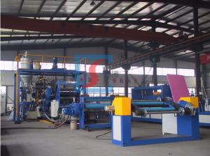 China Clear PP Extruder Plastic Machine / PET Plastic Sheet Production Line on sale