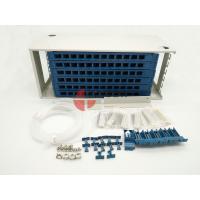 72 Port Fiber Optic ODF Optical fiber patch panel , Rack Mount Fiber Distribution Unit SC
