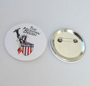 China Button Badge PM-362, Customized Tin Badge on sale