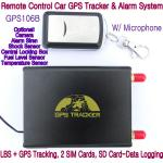 China GPS106B Car Safety Vehicle GPS Tracker W/ Armed by remote-controller & geo-fencing Alarm wholesale