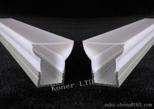China LED Aluminum proflie,swallow-tailed lampshade cover LED Bar Lightsled aluminium extrusion profile,LED ceiling profile on sale