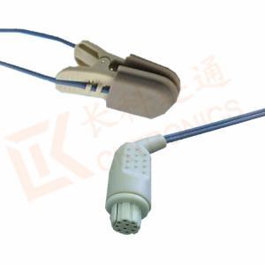 Quality Uso animal do sensor SpO2 reusável do Pin do sensor 10 da ponta de prova de for sale