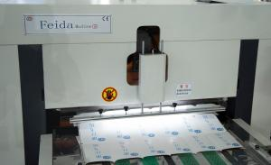 Quality Roll Paper Box Automatic Die Cutting Machine , FD1250 * 700 Die Cut Paper for sale