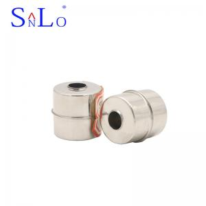 China 316L Material Float Switch Ball / Sewage Pump Floats 28*28*9.5mm 1MPA Pressure on sale