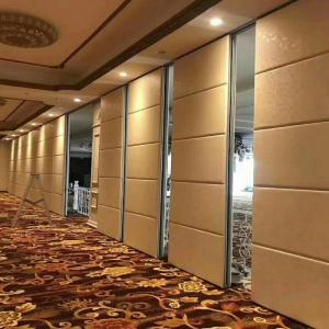 China Banquet Hall  Movable Folding Sliding Door Partitions Sound Proof Partition Wall on sale