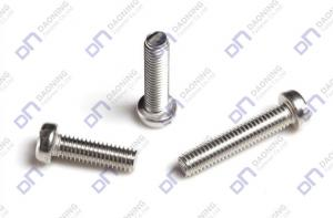 China Slotted pan head screws on sale