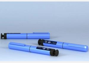China Disposable Plastic Injection & Puncture Instrument / Injection Pen 1IU - 60IU Dose on sale