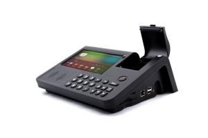 China PC700 Intelligent Pos Terminal with printer,internet,Card reader,NFC,WiFi,BT on sale