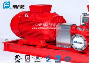 China 1250GPM@12bar Electric Motor Driven Fire Pump With Air / Water Cooling Method on sale