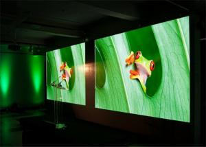 China 4mm 5mm Indoor LED Video Wall Screen , Activities Stage Background Screen on sale