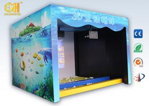 China Indoor Playground 3D Game Machine Interactive Wall Projection For Smash Ball Game on sale