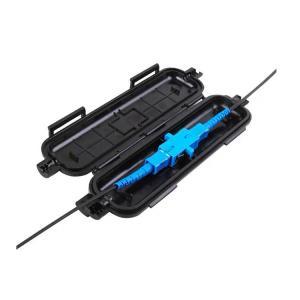 China Drop Cable PP Plastic FTTH Fiber Optic Termination Box on sale