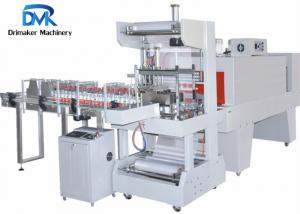 China Shrink Wrapping  Bottle Packing Machine 380v/220v 50hz Touch Screen Control on sale