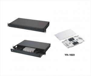 China White Black Color Optical Fiber Frame Fit Cabling System And Network System YH1005 on sale