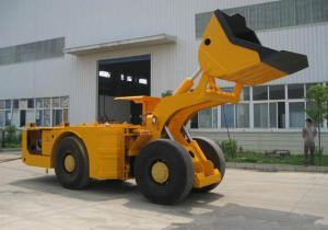 China China 2 CBM Articulated Underground Rock Tunnel Mining Front Loader For Coal Mine on sale