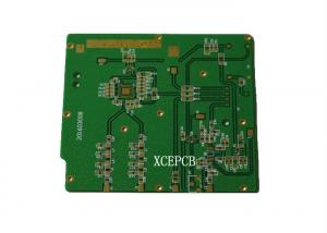 China Prototype Pcb Manufacturer Of POE Switch Pcb Board Of Custom High Frequency Rogers 5880 on sale