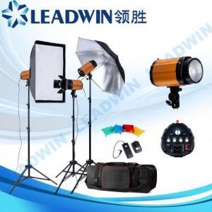 China LW-FLK18 LEADWIN studio flash lighting kit on sale