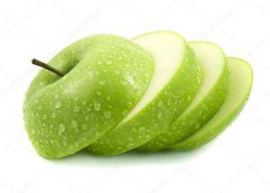China Green Dehydrated Apple Powder , Fruit Supplement Powder Improve Intestinal Health on sale