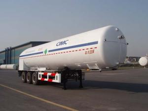 China 液体窒素SDY9403GDYNのための低温液化ガスの貨物自動車のタンカー on sale