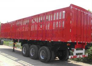 China SINOTRUK Tractor Trailer Truck 50 Ton Side Wall Cargo Semi Trailer OEM Optional on sale
