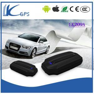 China Professional Car GPS Tracker Long Battery Life Geo Fence ----Black LK209A on sale