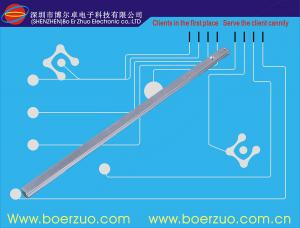 China Keypad Keyboard Membrane Sticker Adhesive With Spacers For Printing Machine on sale