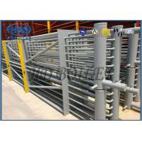 Stainless Steel Boiler Economizer Bare Tube Type With Headers On Painted SCR System Recovery Flue Gas