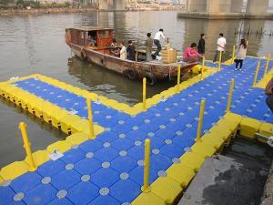 Quality Ponton de HDPE de plate-forme de fonctionnement de l'eau for sale
