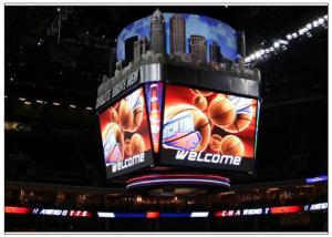 China Cube Basketball Court / Sport Stadium LED Display 1R1G1B P6 Full Color supplier
