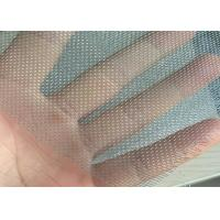 16 Mesh * 18 Mesh Fiberglass Window Screens Mosquito Protection Galvanized