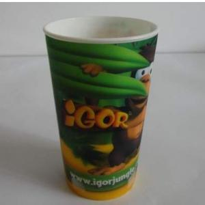 China Tasse 3D en plastique (dans le label de moule) on sale