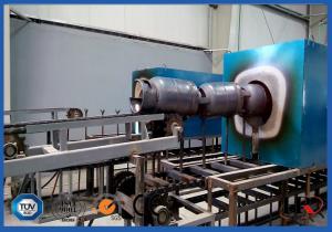 China Automatic LPG Cylinder Production Line 2.0 - 4.0mm Thinckness 6kg / 12kg / 15kg / 50kg on sale