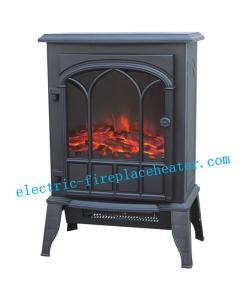 China Freestanding Electric Fireplace Stove 2000W , Remote Control Electric Fireplace on sale
