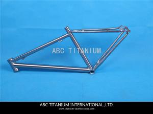 China GR9 titanium fat bike frame on sale