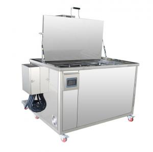 China Oil Filtration Automotive Ultrasonic Cleaner 100L For Engine Parts Anti Corrosion on sale