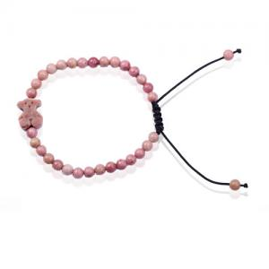 China Small Red Stone Beads Bracelet Jewelry Maker on sale