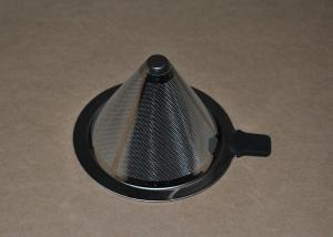 China Washable Stainless Steel Wire Mesh Filter Conical Coffee Filter on sale