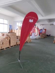 China Teardrop Flag on sale