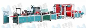 China Handle Bag Automatic Non Woven Bag Machine Self Standing 220V 50Hz on sale