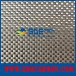 Plain carbon fiber fabric