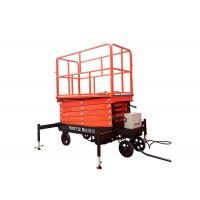 Self Propelled Hydraulic Mobile Scissor Lift Table With Lifting Height 3 - 16m