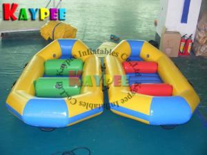 China Inflatable draft boat ,fishing boat, pvc rubber boat ,,aqua sport game KBA002 on sale