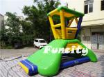 China 6mLx5mWx4.2mH Inflatable Water Toys 0.9mm PVC Tarpaulin Water Lifeguard Tower wholesale