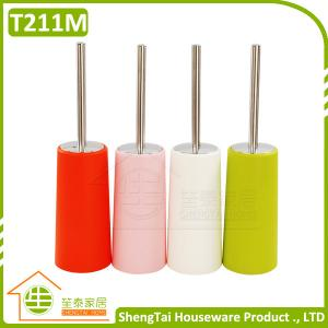 China Eco Friendly Fashion Toilet Brush With Stainless Steel Handle on sale