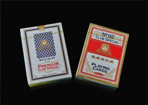China Custom Print Poker Playing Cards , Classic Animated Poker Card Sets on sale