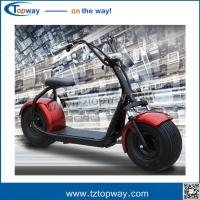 Harley Electric Scooter 800w 1000w seev citycoco 2000w electric scooter with fat bike tire
