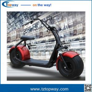 China Harley Electric Scooter 800w 1000w seev citycoco 2000w electric scooter with fat bike tire on sale
